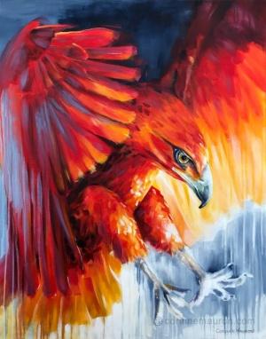 Aigle rouge